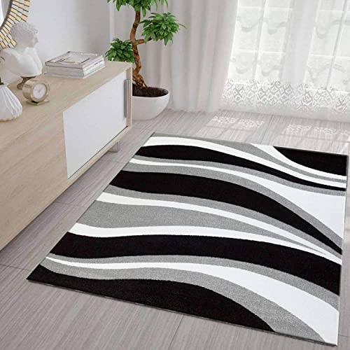 Black and white rugs for living rooms - Black and white rug ...