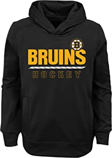 bruins sweatshirt with laces