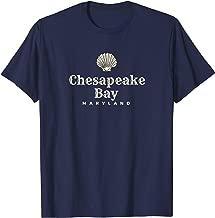 Chesapeake Bay T-Shirt, Maryland Ocean Shell Shirt