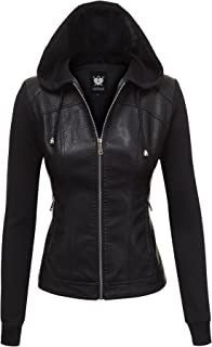 Best hooded leather jacket outfit Reviews
