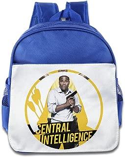 BestGifts Custom Cute Circle Intelligence Kids Schoolbag For 1-6 Years Old Pink