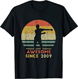 Vintage Floss Dance 10th Shirt Gift for 10 Year Old Birthday