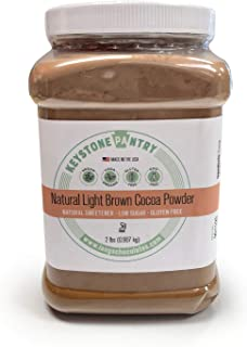 Keystone Pantry Natural Light Brown Cocoa Powder 2-Lb Jar