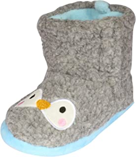 dELiAs Girls Animal Sherpa Slippers Boots (Toddler/Little Kid)