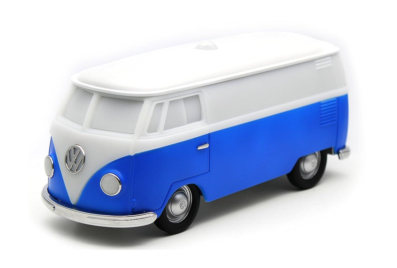 見る人取り消す歴史家[Cassette Car Products]VWバス 人感センサーライト ブルー