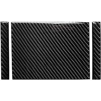 Carbon Fiber Side Dashboard Air Conditioning AC Air Vent Outer Panel Frame Decal Cover Trim for BMW 3 Series 4th E46 320i 325i 330i 335i 340i M3 1998-2006