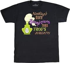 inktastic Nothing's More Suspicious Than Frog's Breath T-Shirt Medium Black