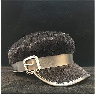 SHENTIANWEI Women Cloche Beret Hat Newsboy Cap Elegant Lady Fascinator Hat Octagonal Hat Winter Outdoor Casual Visor Hat Size 56-58CM