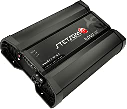Stetsom Vulcan 5000 1 Ohm Mono Car Amplifier, 5000.1 5K...