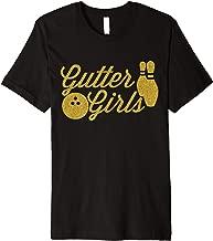 Gutter Girls TShirt Funny Vintage Gift For Bowlers