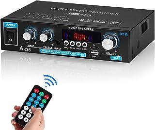 Mini Bluetooth 5.0 Digital Amplifier USB Player Stereo Home Car Marine Audio Amp