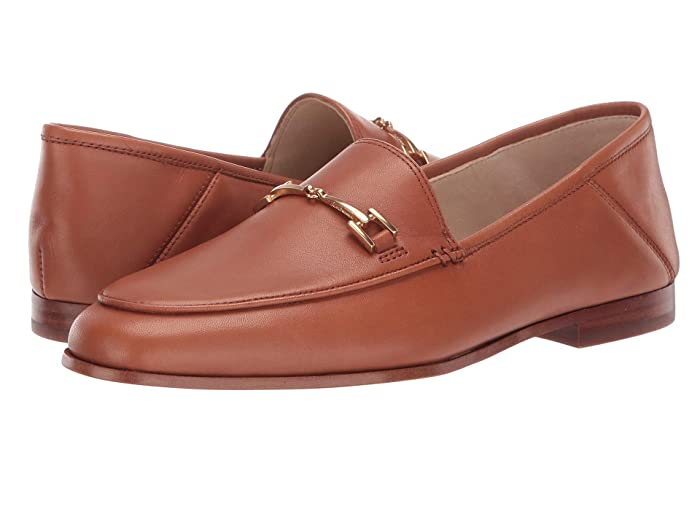 Sam Edelman  Loraine Loafer (Saddle Atanado Leather) Womens Dress Sandals