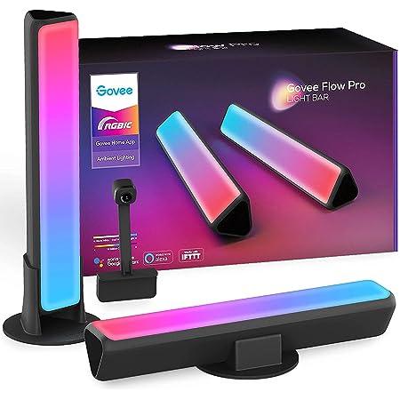 Govee Smart LED Lightbar, WiFi RGBIC LED TV Hintergrundbeleuchtung mit Kamera, Gaming Lampe Sync mit Musik, funktioniert mit Alexa und Google Assistant, LED Play Light Bar für 27-45 Zoll Fernseher PC