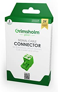 Grimsholm Green® Conector de cable para Robomow, 2 unidades