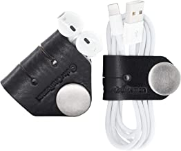 leather earbud wrap