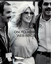 OnlyClassics Queen of AUTO Racing Sexy Linda Vaughn Photo Wearing Hurst Necklace Busty Pinup