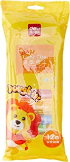 Deli 67850 Light Clay, Assorted (Pack of 12)
