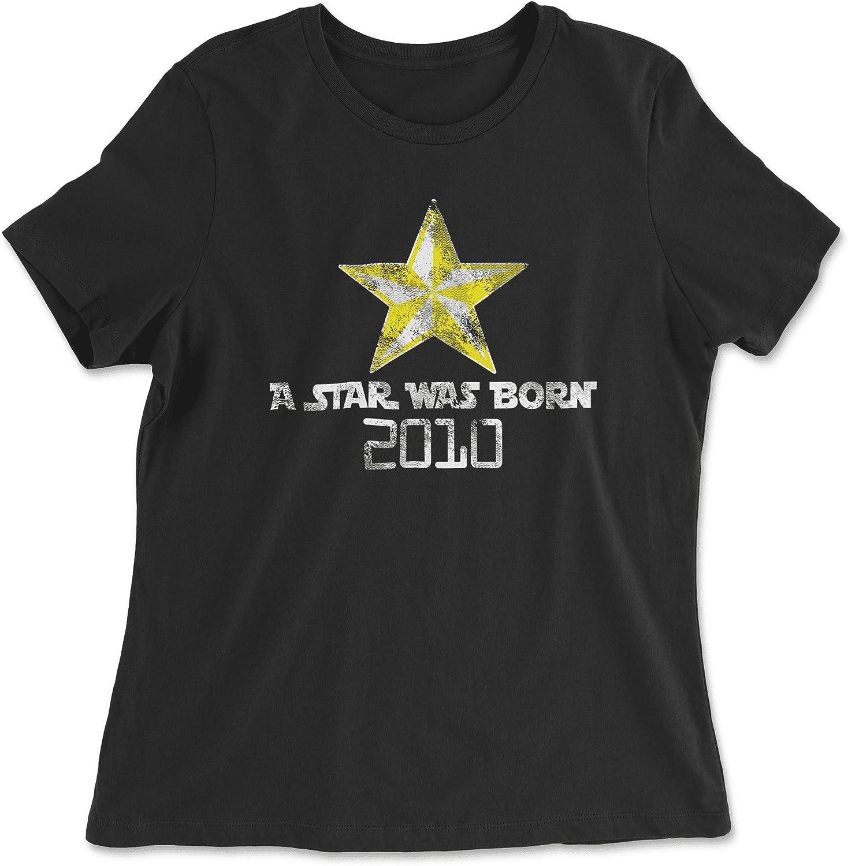 HARD EDGE DESIGN Women's A Star was Born 2010 T-Shirt