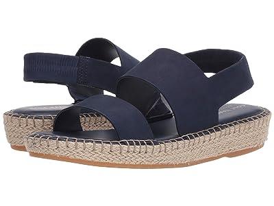 Cole Haan Cloudfeel Espadrille Sandal (Marine Blue Nubuck/Natural Jute/Gum) Women