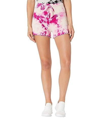 YEAR OF OURS Lettuce Shorts (Pink Tie-Dye) Women