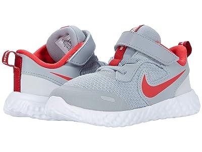 Nike Kids Revolution 5 (Infant/Toddler) (Light Smoke Grey/University Red/Photon Dust) Kid