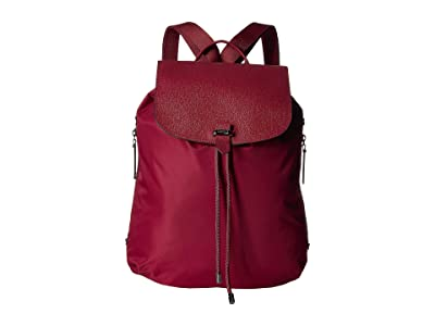 Lipault Paris Plume Avenue 15 Laptop Backpack (Garnet Red) Backpack Bags
