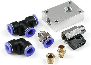 Primefit PCKIT7 7-Piece 1/2-Inch Air Push To Connect Outlet Block Kit
