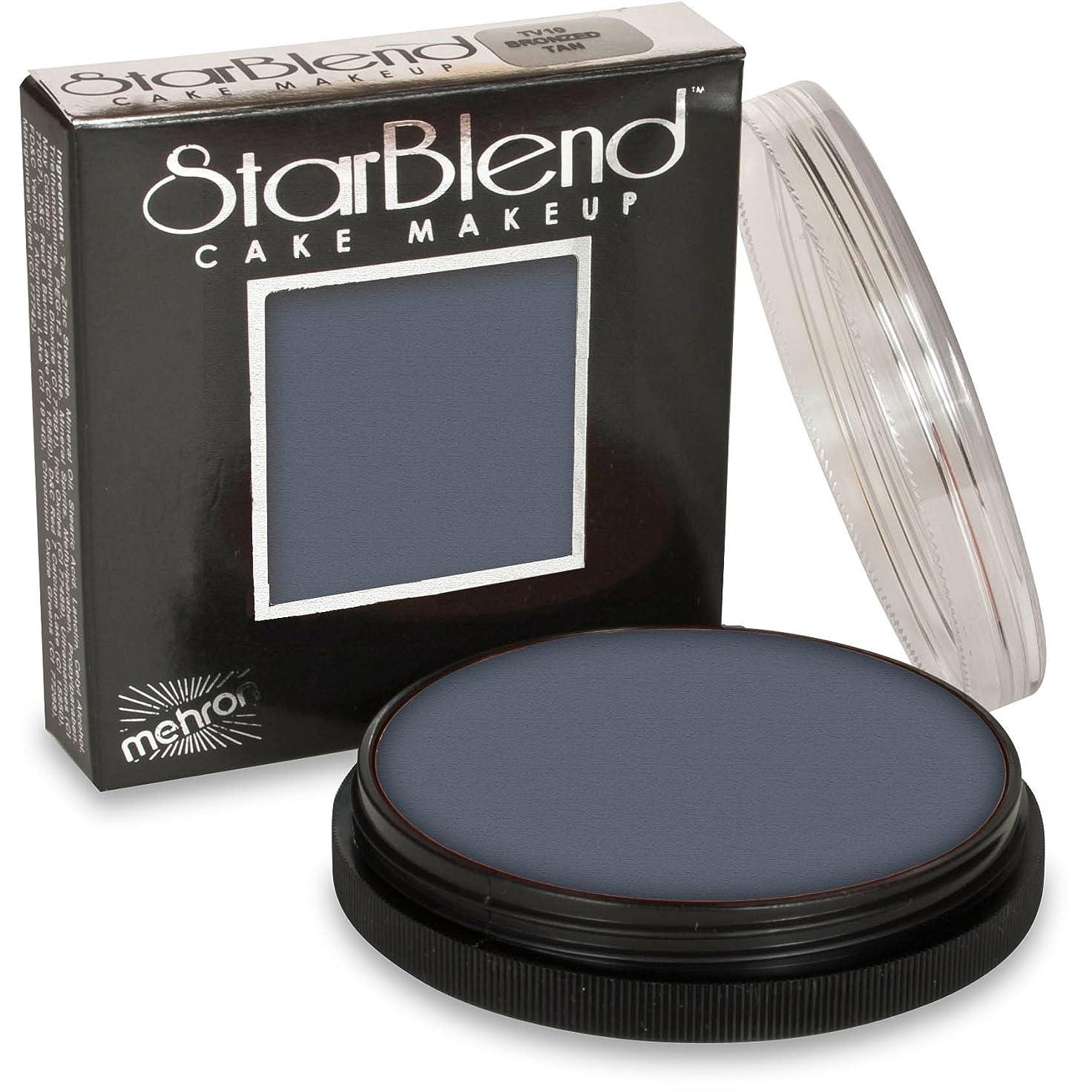 幽霊早める強大なmehron StarBlend Cake Makeup Light Grey (並行輸入品)