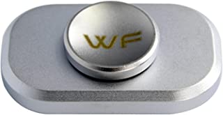 WeFidget Original The Bar Premium Hand Spinner, Designed for Stress and Anxiety Relief. (Silver)