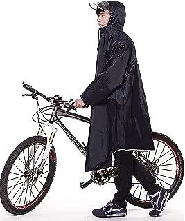 レインコート 自転車 バイク ロングポンチョ 雨具 通勤 通学 フリーサイズ 男女兼用