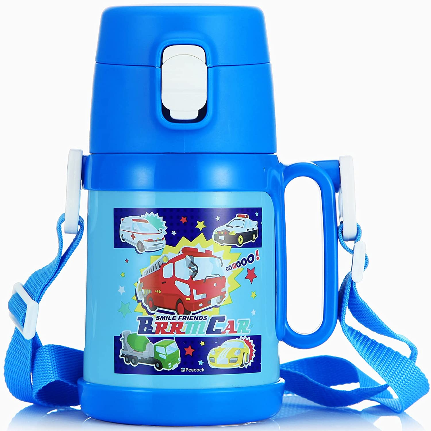 Kids Special price Water Bottle Portland Mall with Straw Double Insulated Vacuum Tumbl Wall