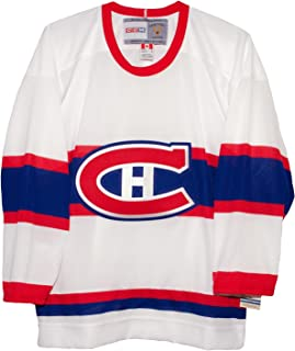CCM Montreal Canadiens White Vintage Hockey Jersey
