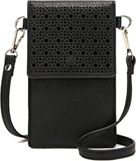 Forestfish Cell Phone Purse Small Crossbody Bag Wallet Shoulder Bag with 2 Shoulder Strap for Women or Girls