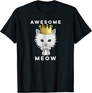 Awesome Meow Wow Funny Hamilton Cat TShirt
