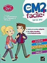 Mon CM2 facile ! adapté aux enfants DYS ou en difficulté d'apprentissage : toutes les matières (Mon primaire facile DYS)