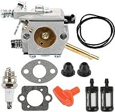 Harbot WT-45 Carburetor with Fuel Line Filter Gasket Spark Plug for STIHL FS48 FS52 FS62 FS66 FS81 FS86 FS88 H24D FS106 BR400 String Trimmer 41261200610