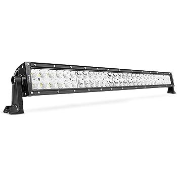 LED Light Bar Nilight 32 Inch 180W Spot Flood Combo LED Driving Lamp Off Road Lights LED Work Light Boat Jeep Lamp,2 Years Warranty