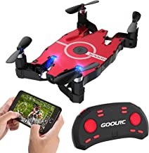 GoolRC T49 FPV Drone with WiFi Camera Live Video 2.4G 4 Channel 6 Axi Auto Foldable Arm Altitude Hold RC Quadcopter