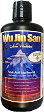 Wujinsan Pure Fulvic Acid Isolate (HPTA Certified) (.59% Hydrophilic Fulvic Acid Per Bottle) (1 Quart) (Cold Extracted)