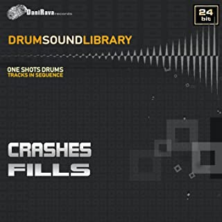 Drums Sound Library - Fills & Crashes (Samples in Sequence 24 Bit)