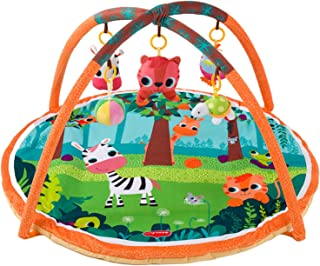Generic Baby Play Mat Playmat Protective Animal Print Colorful Game Pad Children's Fitness Frame Crawling mat for Fence In...