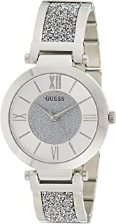Guess Casual Watch for Women, Stainless Steel, W1288L1