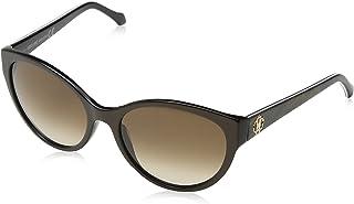 Roberto Cavalli Cat Eye Women's Sunglasses, Brown Frame and Lenses RC824S 50F