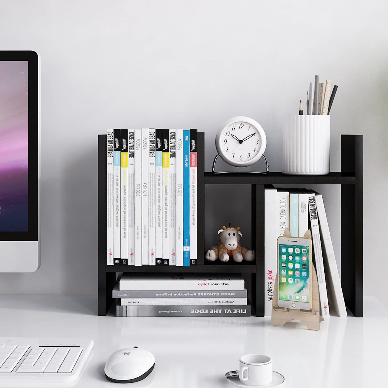 Jerry Max 67% OFF Maggie - Desktop Max 74% OFF Organizer Rack Storage Office Adjustabl