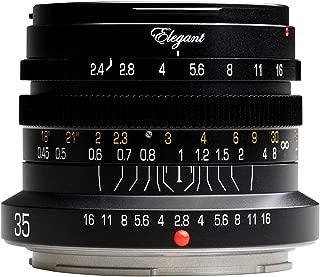 KIPON Elegant 35mm F2.4 Full Frame Camera Lenses for Nikon Z Mount (Black)