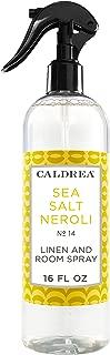 Caldrea Sea Salt Neroli Linen and Room Spray Air Freshener 16 oz