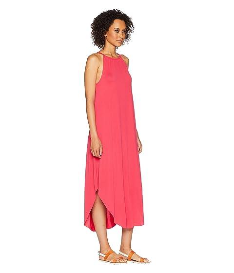 escarlata con arena Rose vestido cuello Mckenna American alto lavado RxPWqSA8c