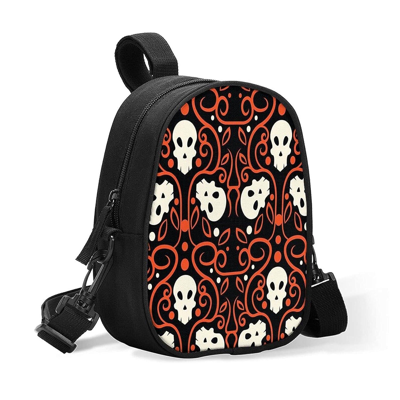 Ranking integrated 1st place Halloween Skull Breastmilk Baby Bottle Cooler Travel Porta Bag New sales