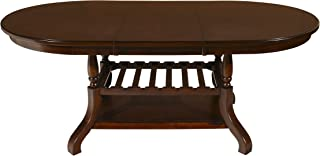 New Classic Furniture Bixby Dining Table, Espresso