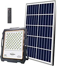 DAYATECH Solar Sercurity Light Outdoor, 200W LED Solar Flood Light with Remote Control Recommend Radar Mode IP65 Solar Pow...